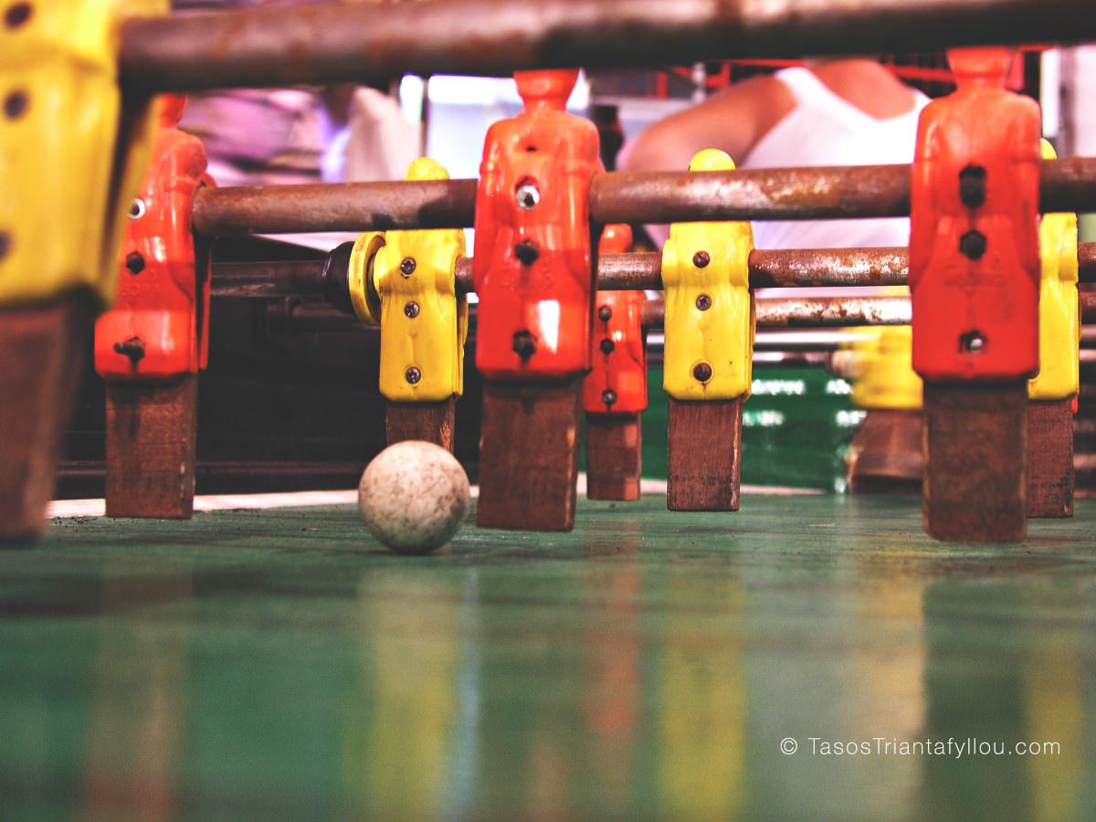 Μπαλάκια-ποδοσφαιράκι